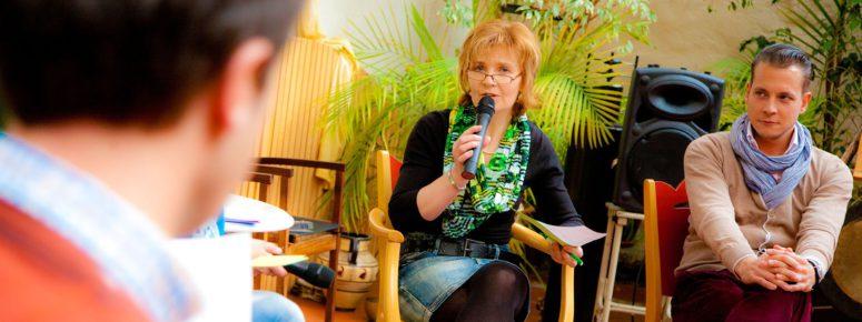 Sprecher Ausbildung für Schriftsteller