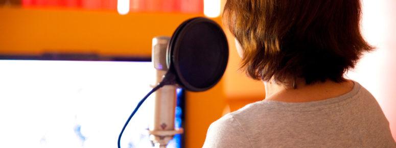 Hörbuchsprechen Fernstudium