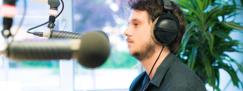 Hörbuchsprecher Studium