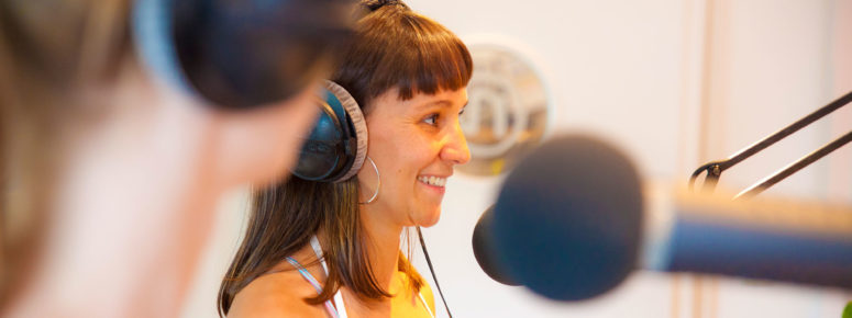 Hörbuchsprecherin werden Tirol