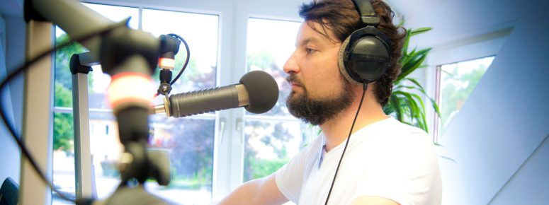 Ausbildung zu Synchronsprecher - Hörbuchsprecher München