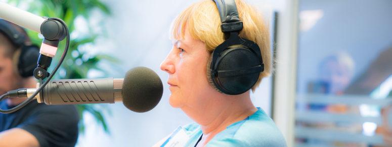 Sprecher Ausbildung für Senioren
