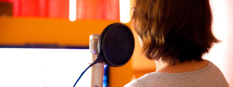 Tonstudio Aufnahme für Sprecher Demo