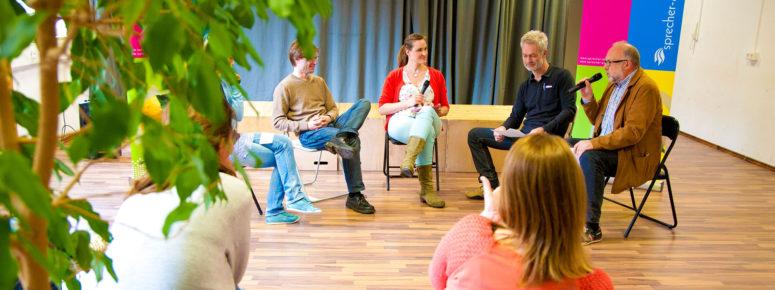Vor Publikum sprechen lernen