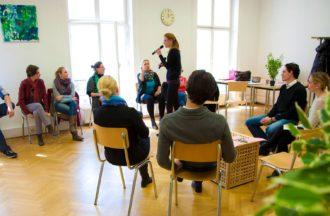 Sprechen Schreiben Ausbildung Wien